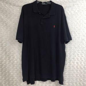 Polo Ralph Lauren Mens XL Dark Blue Shirt Casual